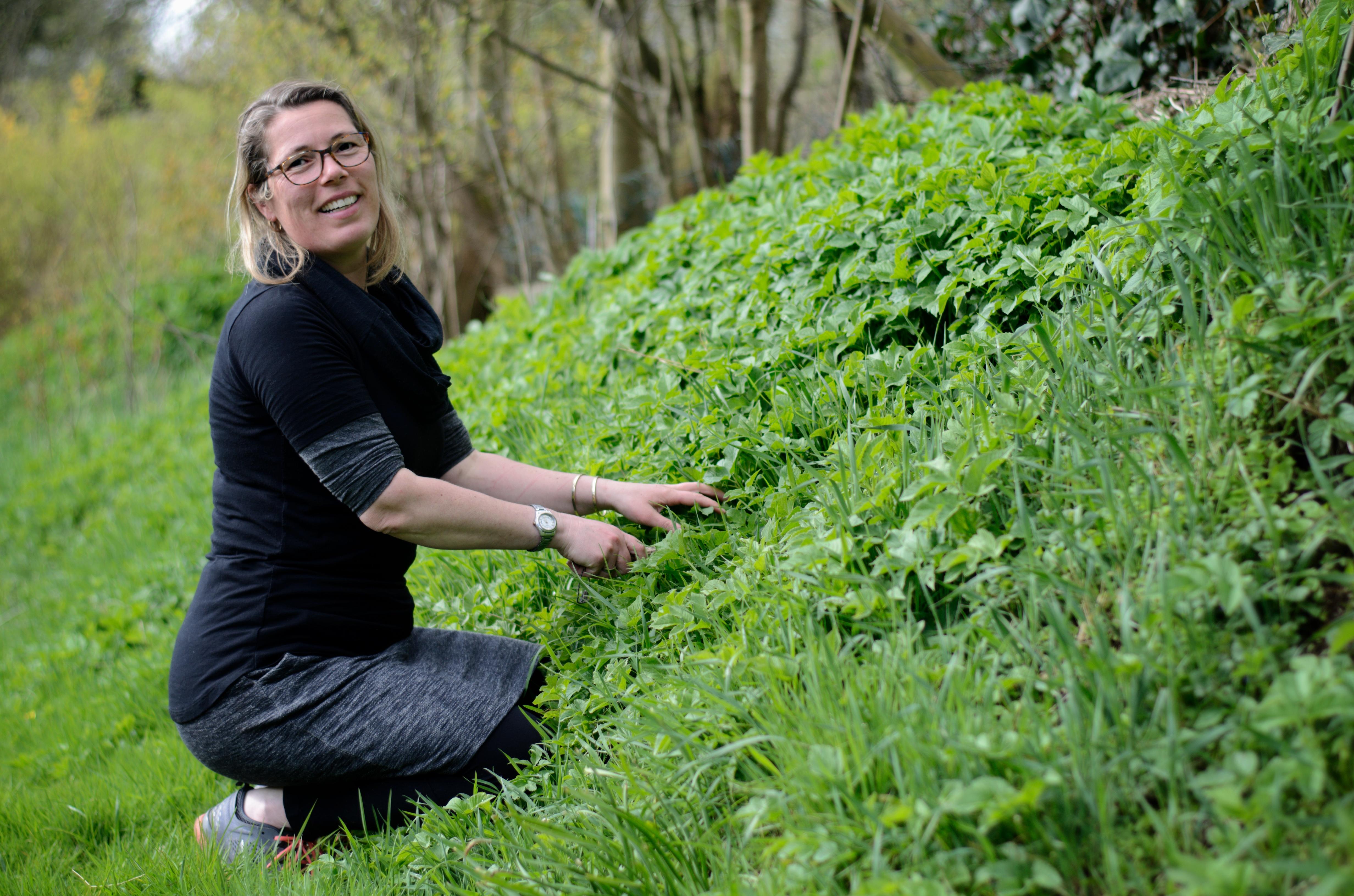 """""""Natuurlijke tuinen zorgen voor balans en een schone grond"""""""